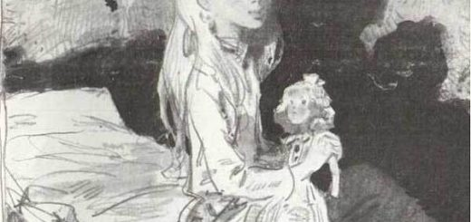 девочка, кукла, свеча