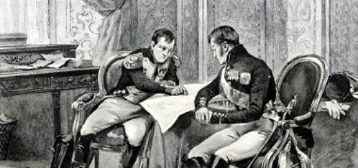 Два человека, карта